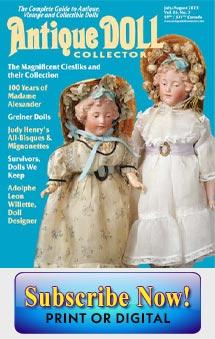 Antique Doll Book Steiner Jumea Gaultier Bru Barrois Rare